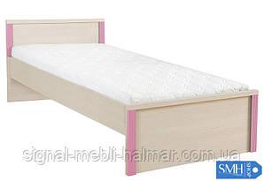 CAPS LOZ/90 кровать BRW (без матраца, без вкладки)