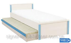 CAPS LOZ/85D нижняя кровать BRW (с матрацом без вкладки)