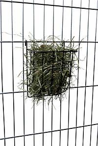 Ясли для сена металл 13*8*12 см , Трикси