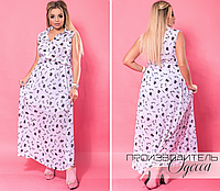808e9d5c7cd2 Шифоновое платье в пол большого размера недорого в Украине интернет-магазин  производитель Одесса р.