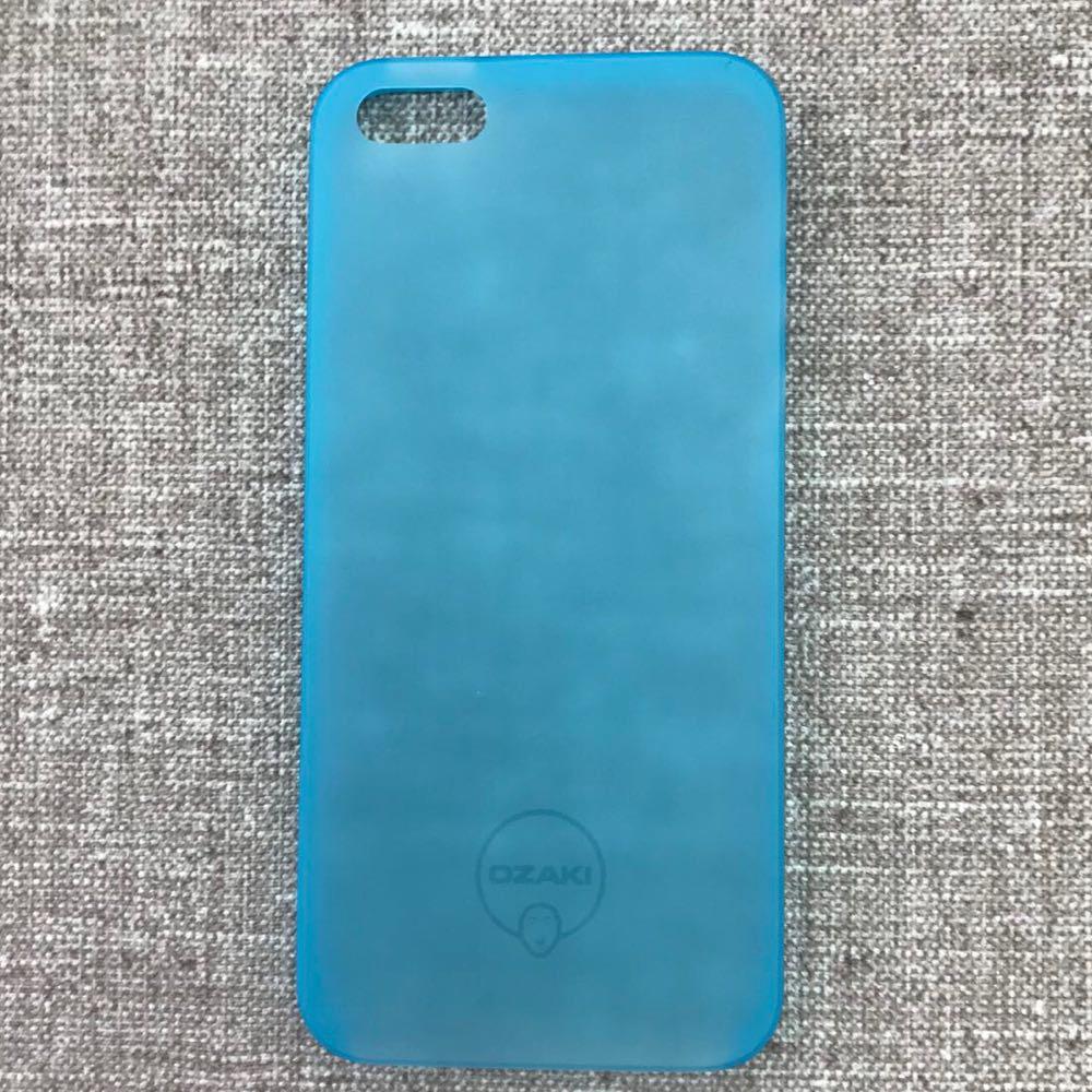Чехол Ozaki O!coat 0.3 iPhone 5s/SE Jelly blue EAN/UPC: 471897153308