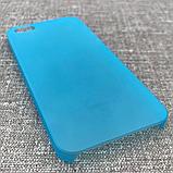 Чехол Ozaki O!coat 0.3 iPhone 5s/SE Jelly blue EAN/UPC: 471897153308, фото 3