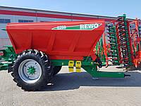 Розкидач добрив та вапна причіпний AGRO-MASZ REWO8200