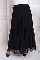 Длинная красивая юбка в пол больших размеров Визит