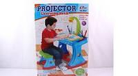 Парта с проектором Projector learning desk 6666/8867 Blue