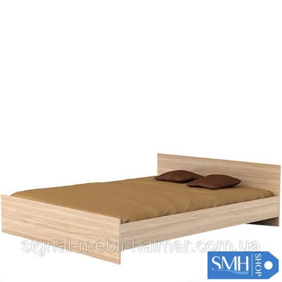 Ліжко в спальню LOZ/160 BRW