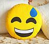 Декоративная подушка-смайлик Emoji #18 Улыбка