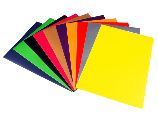 Картон и бумага цветные и белые