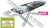 """Гладильная доска """"Eurogold Aero Max"""" (120х38 см.) на термопластиковой основе с розеткой и чехлом, фото 3"""