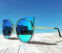 Солнцезащитные очки женские фирменные Cordeo модерн в стиле Ray Ban