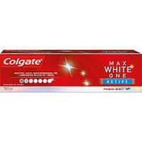 "Colgate Max White ONE Active Zahncreme mit Fluorid ""Power Mint"" - Зубная паста с фторидом"