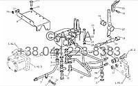 Клапан управления (опция) на YTO X804, фото 1
