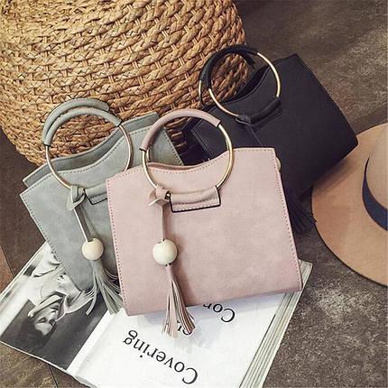 70151cc7667a Каркасная женская сумка с круглыми ручками от интернет-магазина Days ...