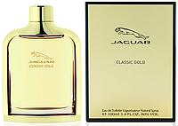 Jaguar Classic Gold EDT 100 ml туалетная вода мужская (оригинал подлинник  Франция)