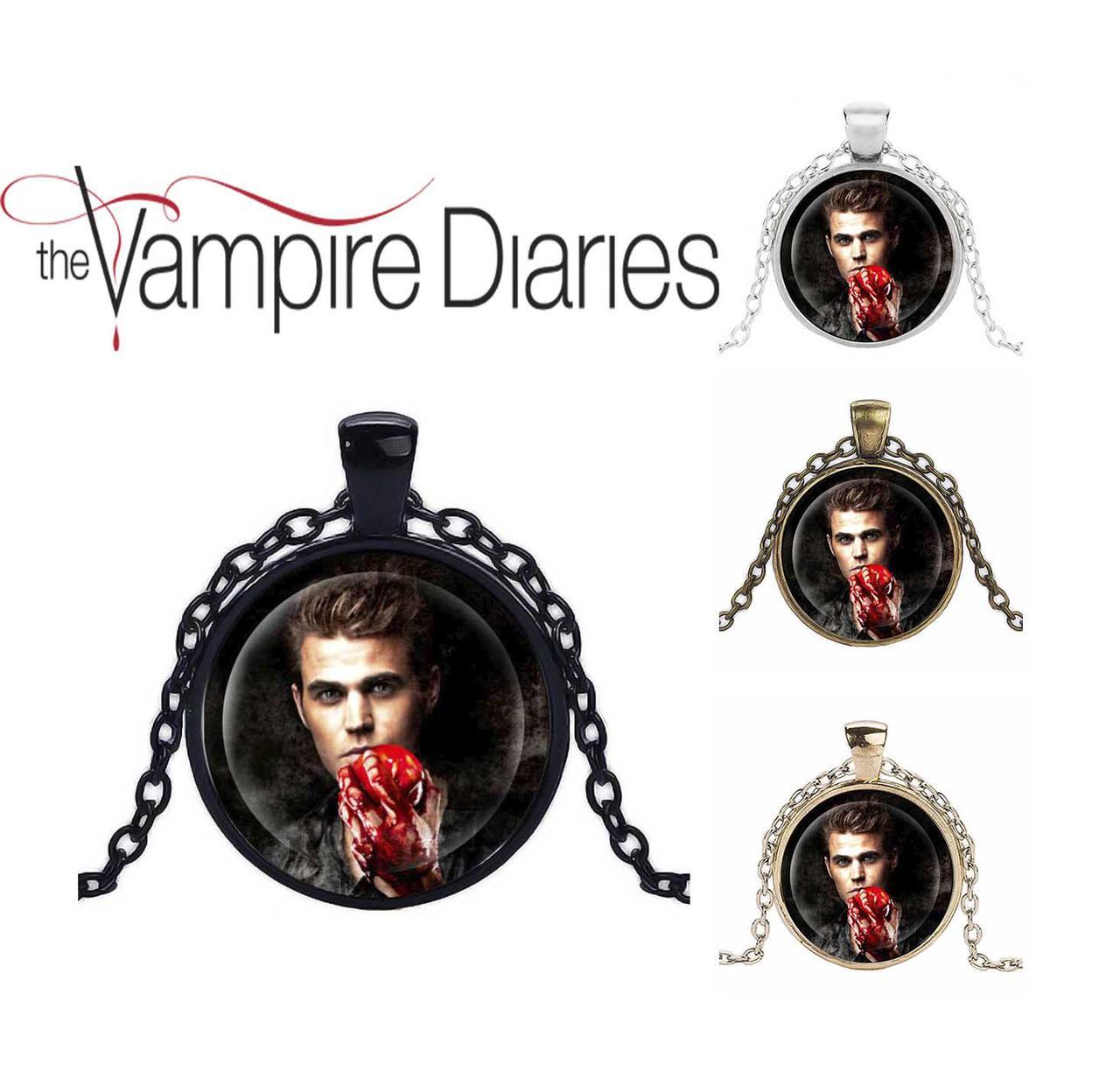 Кулон Дневники Вампира Vampire Diaries Стефан Сальваторе