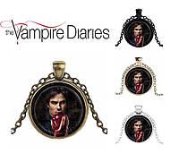 Кулон Дневники Вампира Vampire Diaries с Деймоном Сальваторе, фото 1