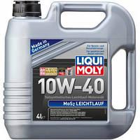 Полусинтетическое моторное масло LIQUI MOLY MoS2 Leichtlauf 10W-40 4л. - производства Германии