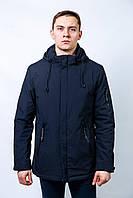 Мужская весенняя осенняя куртка ветровка молодежная длинная молодежная
