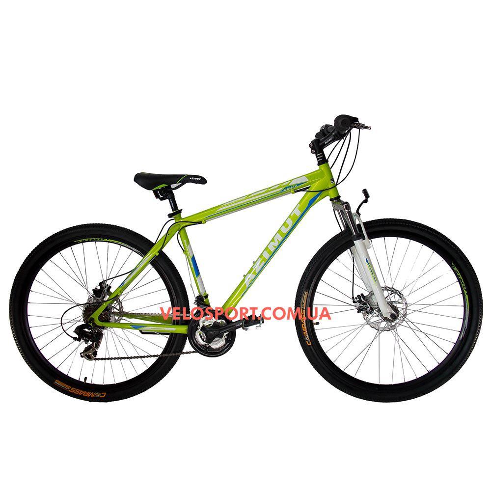 Горный велосипед Azimut Swift 29 GD салатовый