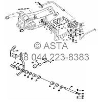 Ходовой клапан контроля трубопроводов на YTO X804
