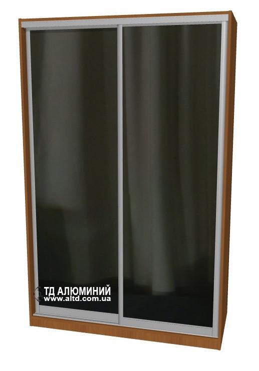 Шкаф купе | Дверь купе Зеркало+Зеркало