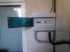 блок защиты солнечного инвертора на автоматике ETI