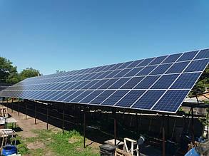 сетевая солнечная электростанция 30 кВт для зеленого тарифа Харьков