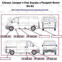 Правый порог CITROEN JUMPER -06