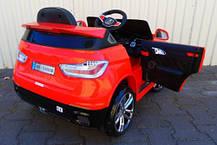 Детский электромобиль BMW X6 красный + резиновые EVA колеса + 2 мотора по 35 Ватт, фото 3