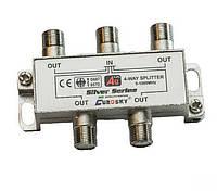 Делитель ТВ сигнала (4 Way Splitter)