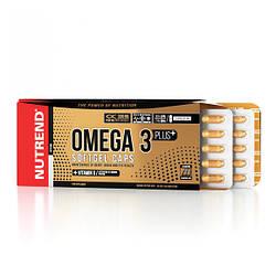 Рыбий жир Nutrend Omega 3 Plus Softgel Caps 120 caps