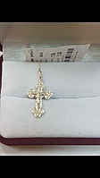 Серебряный крестик 925 пробы.