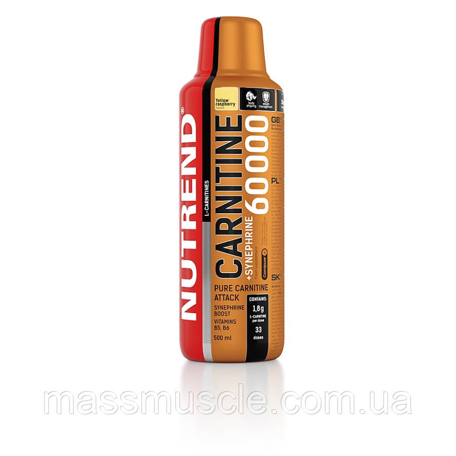 Жиросжигатель Nutrend Carnitine 60000 + Synephrine 500 ml