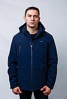 Куртка ветровка Мужская весна-осень с капюшоном короткая