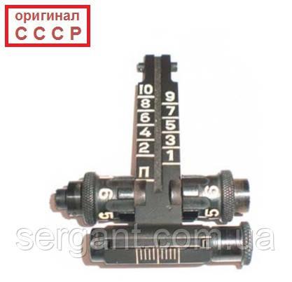 Оригинальная прицельная планка (целик) АКМ для применения с ПБС-1 (оригинал СССР)