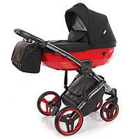 Детская коляска 2 в 1 Junama Diamond S-Line Red (Юнама Даймонд), фото 1