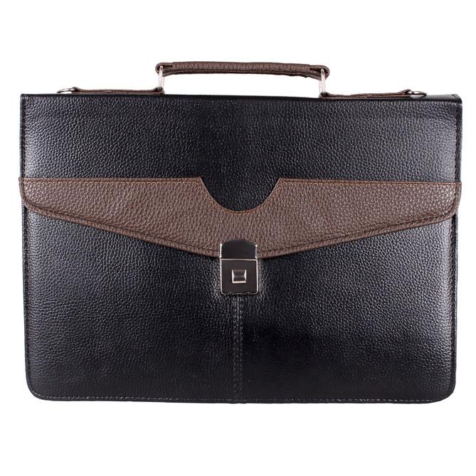 Мужской портфель из искусственной кожи 303038 черный