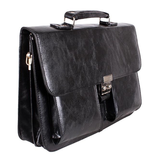 Мужской портфель из искусственной кожи 302974 черный