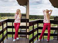 Женская пижама из хлопка со штанами в 46р 311912r
