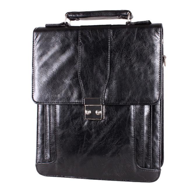 Мужской портфель из искусственной кожи 302957 черный