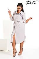 Платье-рубашка №р4185 (ДГ).