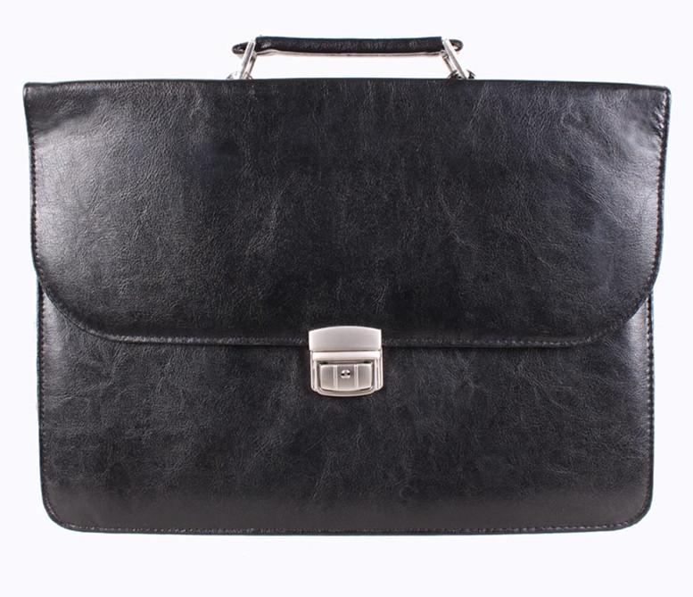 Мужской портфель из искусственной кожи 30370999 черный