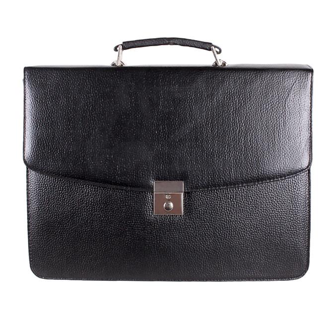 Мужской портфель из искусственной кожи 303028 черный