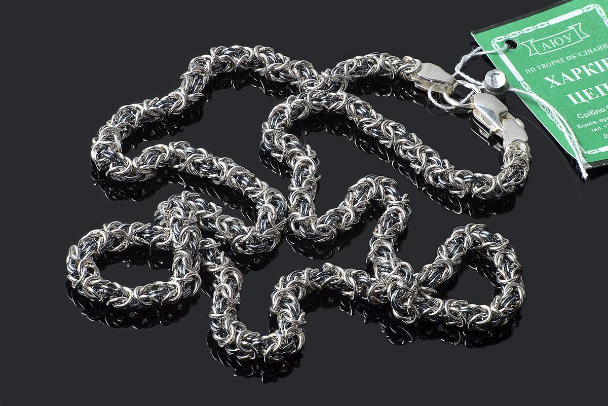 Серебряная цепочка Мальвина