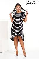 Платье свободное №р1583 (ДГ)