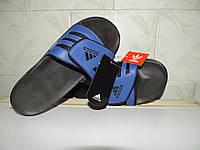"""Сланцы мужские Adidas Velcro® Slide. Застежка """"Велкро"""". Реплика, фото 1"""