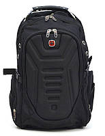 Рюкзак ортопедический молодежный Swissgear 7611 черный, фото 1