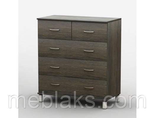 Комод АКМ-018/2 с МДФ профилем Тиса мебель, фото 2
