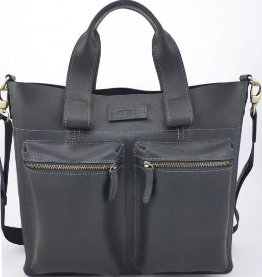 30ee58ddcf5c Кожаная мужская сумка VATTO Mk6.8 Kr670, черный - SUPERSUMKA интернет  магазин в Киеве