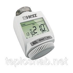 Электронный радиаторный терморегулятор с радиоуправлением Herz ETKF+ 1825101